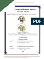 INFLUENCIA DEL PORCENTAJE DE REEMPLAZO DE CENIZA VOLANTE POR CEMENTO, SOBRE LA RESISTENCIA A LA COMPRENSION Y ABSORCION EN LA FABRICACION DE ADOQUINES DE TRANSITO LIVIANO- UNIV. NACIONAL DE  TRUJILLO.pdf