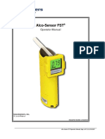 Manual Alcohosensor