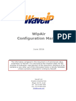 WipAir 8000 Configuration Manual