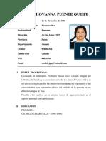 Raquel Jiovanna Puente Quispe Cv