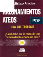 Vadas, Ladislao - Razonamientos ateos. Una antiteología.pdf