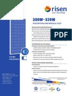 Modulo Solar RSM-72!6!320P