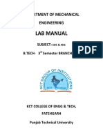 Basic electronics lab manuals