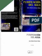 Purificación Del Agua, Romero 2006