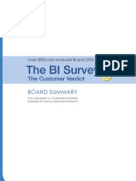 The BI Survey 9 (via Board)