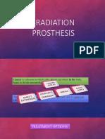 Radiation Prosthesis