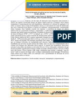 Ecologia de Fungos Entomopatogenicos No Macico de Baturite Ceara Brasil