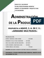 AGAVE, S. A. DE C. V. [TRABAJO DE PRODUCCIÓN] 2.docx