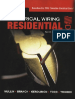 Electrical Wiring Residential Sixth Canadian Edition