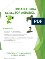 Plan Contable Para El Sector Agrario