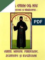 Acatistul Sf. Efrem Cel Nou