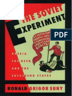 Ronald Grigor Suny the Soviet Experiment Russia the USSR and the Successor States 1997 Oxford University Press USA (1)
