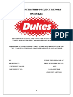 Duke SIP Project Report