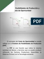 Fpp y Costo de Oportunidad