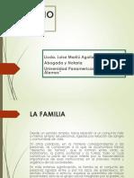 CLASE No. 8 Derecho Civil 1 (Diapositivas LA FAMILIA)