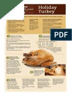 Holiday Turkey Sheet (Graphics)