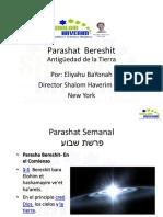 Parashat Semanal BERESHIT