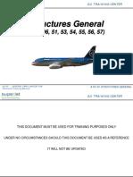 SSJ-100 ATA 50 STRUCTURES GENERAL
