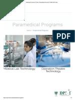 Healthcare Courses in Delhi _ Paramedical Courses in Delhi NCR India
