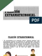 Diapositivas Filiación extramatrimonial