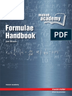 Maxon Formula Handbook