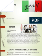 Report Italy