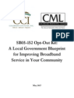SB-152 Opt-Out Kit | A local government blueprint for improving broadband service in your community
