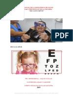 Plan Anual de Salud Ocular