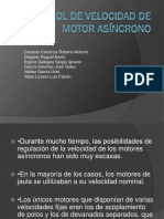 Control de Velocidad de Motor Asíncrono