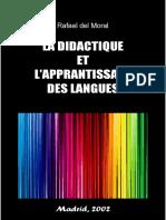 Théories Générales Sur l'Apprentissage Et l'Acquisition d'Une Langue Étrangère T02 Rafael Del Moral