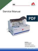 Manual de servicio de analizador de química clínica