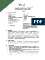 Universidad Alas Peruanas Facultad de De