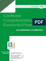 Conflictos Competenciales, Económico Financieros - Procedimientos Conciliatorios