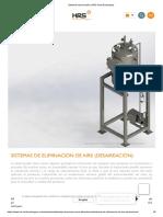 Sistemas Desaireación _ HRS Heat Exchangers
