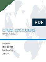ISO TS 15066 Robos Colaborativos