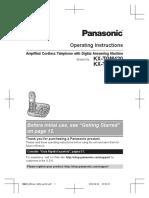 Panasonic telefono kxtgm420