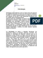 Estrategia Empresarial Materia Introductoria