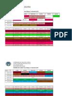 Horario Agronomia 1er Sem 2019 Oficial