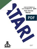 ATARI 2600 Field Service Manual