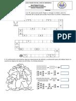 Evaluacion de Matematicas 3 Periodo Transición