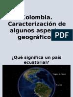 Algunos Aspectos Geografía Física de Colombia