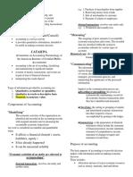 Accounting 3 Notes