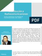 Introducción a Radiocomunicaciones 2019-II