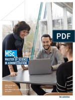 Brochure Msc ENG HEC Montreal January 2019