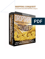 Drop Shipping CONQUEST