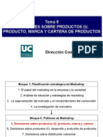 Tema  5 cartera  de  productos