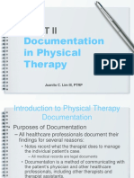 234323325 Documentation in Physical Therapy