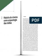 Thomas Elsaesser Cinema Como Arqueologia Das Midias Cap 2 Ed.sesc 2018