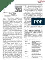 DS 019-2019-MTC Modifica El Reglamento de Homologacion