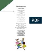 20 Canciones Infantiles 1 x Hoja